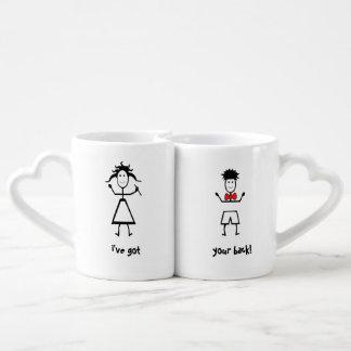 Grupo da caneca de café