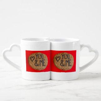 Grupo da caneca de café de YOU&ME