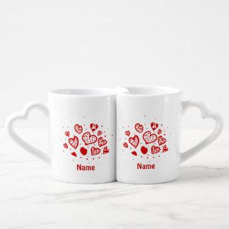 Grupo da caneca de café do AMOR