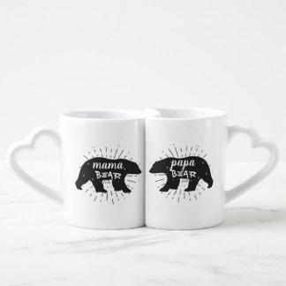 Grupo da caneca de café do Mama Carregamento Papá