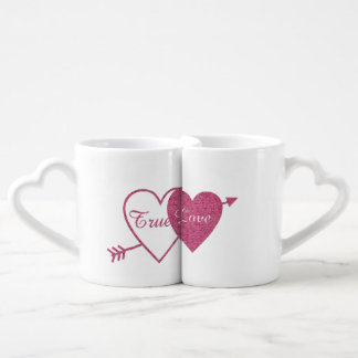 Grupo da caneca do casal verdadeiro do amor