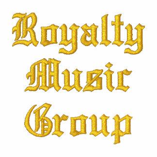 Grupo da música dos direitos pólo camisas polo bordadas
