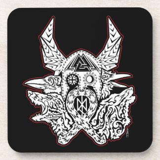 Grupo da porta copos do emblema de Odin de 6