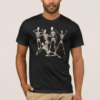 Grupo de esqueleto camiseta