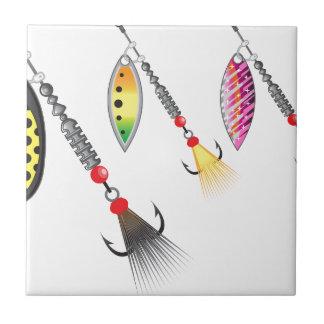 Grupo de giradores que pescam a ilustração do