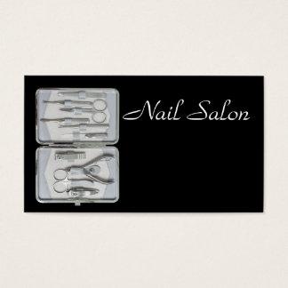 Grupo de Manicure Cartão De Visitas