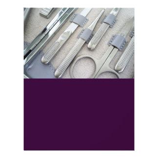 Grupo de Manicure Modelos De Panfleto