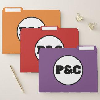 Grupo de P&C de pastas de ficheiros