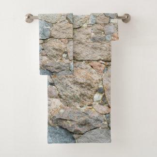 grupo de pedra de toalha de banho, grupo, casa,