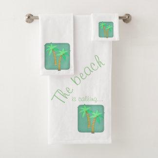 Grupo de toalha da palmeira