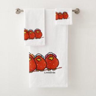 Grupo de toalha de banho do Natal