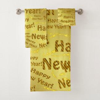 Conjunto De Toalhas Grupo de toalha de banho, feriado, grupo, ano novo