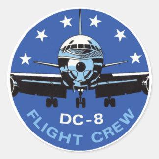 Grupo de vôo DC-8 Adesivo