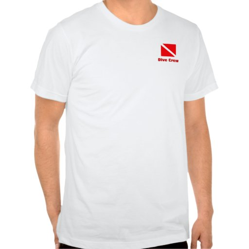 Grupo do mergulho - instrutor t-shirt