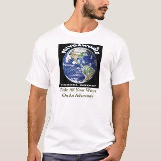 Grupo do viagem de Polyaworld Camiseta