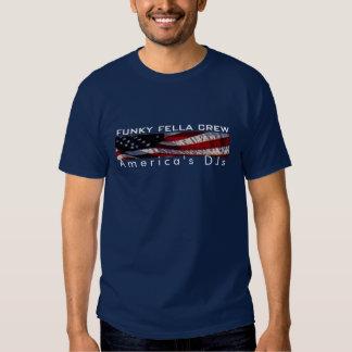Grupo Funky do bacano: O DJs de América Tshirt