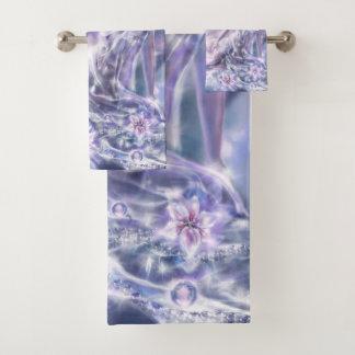 Grupo ideal Sparkling de toalha do banheiro da