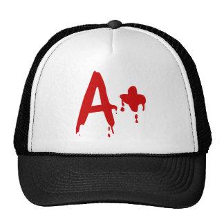 Grupo sanguíneo A+ Hospital positivo do Horror Bone
