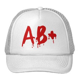 Grupo sanguíneo AB+ Hospital positivo do Horror Boné