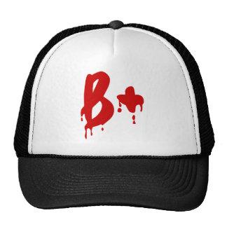 Grupo sanguíneo B+ Hospital positivo do Horror Bone