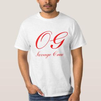 Grupo selvagem de OG Camiseta