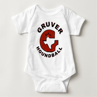 Gruver-G-Shirt-Front-#2 Body Para Bebê