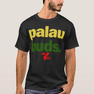 GUAM FUNCIONA 671 botões de Palau Camiseta