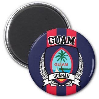 Guam Ímã Redondo 5.08cm