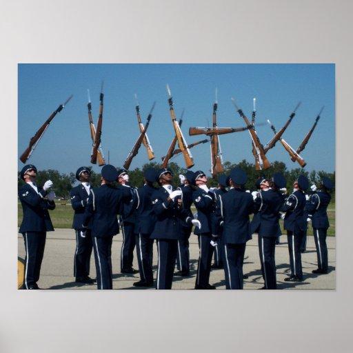 Guarda de honra da força aérea poster