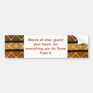 Guarda de pano da lama sua etiqueta do coração adesivo para carro