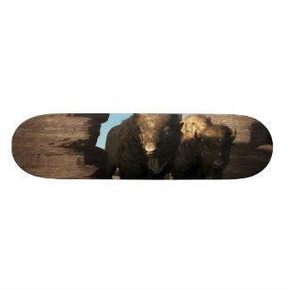 Guarda do búfalo shape de skate 19,7cm