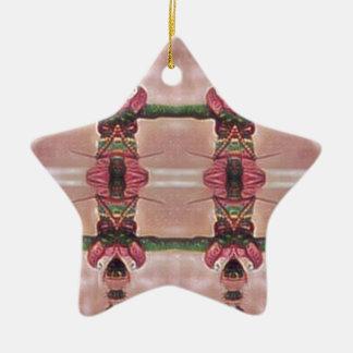 Guarda psicadélico ornamento de cerâmica