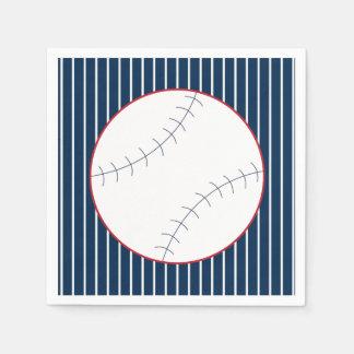 Guardanapo clássicos do partido do basebol