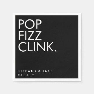 Guardanapo - Clink do Fizz do pop