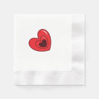Guardanapo - corações