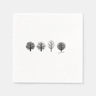 Guardanapo da árvore