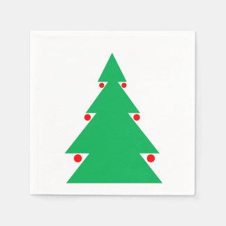 Guardanapo da árvore de Natal