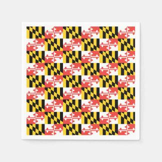Guardanapo da bandeira de Maryland