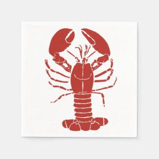 Guardanapo da lagosta de Maine