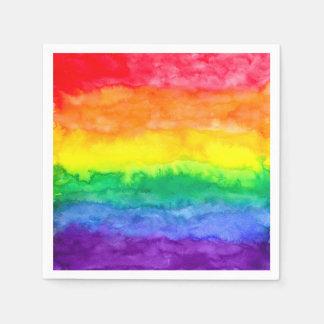 Guardanapo da lavagem do arco-íris