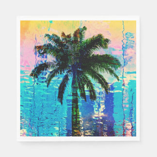 Guardanapo da palmeira