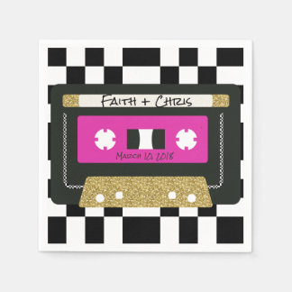 Guardanapo de Mixtape da reminiscência de Hip Hop