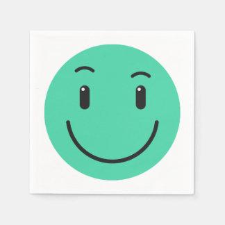 Guardanapo de papel 2/9 do smiley bonito