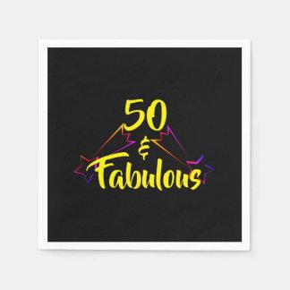 Guardanapo De Papel 50 & fabulosos -