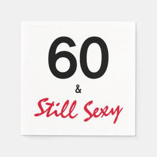 "Guardanapo De Papel 60 & ainda festa de aniversário fabulosa ""sexy"""