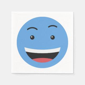 Guardanapo de papel 7/9 do smiley bonito