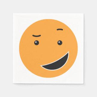 Guardanapo de papel 9/9 do smiley bonito