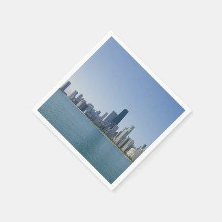 Guardanapo De Papel A skyline de Chicago