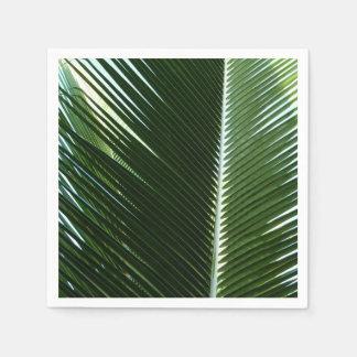 Guardanapo De Papel Abstrato tropical de sobreposição do verde das