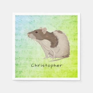 Guardanapo De Papel Adicione seu design conhecido do rato